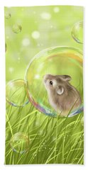 Soap Bubble Beach Towel
