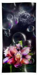 Soap Bubbles Beach Towel