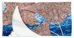 Soaring Eagle Rays Beach Towel