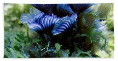 Beach Sheet featuring the photograph Social Feather Duster Cluster - A Social Gathering by Amy McDaniel