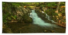 Sodt Light At Uppper Doyles River Falls Beach Towel
