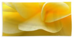 Soft Yellow Beach Towel