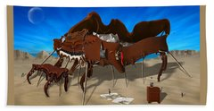 Softe Grand Piano Se Beach Towel by Mike McGlothlen
