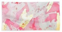 Softly Pink Beach Towel
