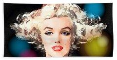 Marilyn - Some Like It Hot Beach Towel