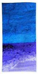 Something Blue Beach Towel by Andrea Anderegg
