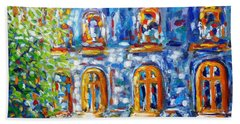 Somewhere In Montreal - Cityscape Beach Towel