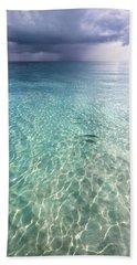 Somewhere Is Rainy. Maldives Beach Towel