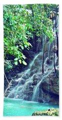 Sommerset Falls Jamaica Beach Towel