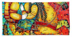 Legend Paintings Beach Towels