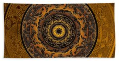 Song Of Heaven Mandala Beach Towel