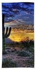 Sonoran Sunrise  Beach Towel