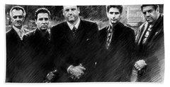 Sopranos James Gandolfini Beach Towel