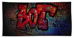 Sot Graffiti - Lisbon Beach Sheet