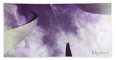 Soul In The Sky - Us Air Force Memorial Beach Towel