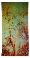 Souls Of Trees Beach Towel