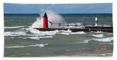 South Haven Splash Beach Towel