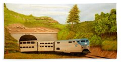 Southwest Chief At Raton Pass Beach Towel