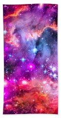 Space Image Small Magellanic Cloud Smc Galaxy Beach Towel