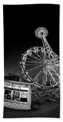 Space Needle Fights The End Of The World Beach Towel