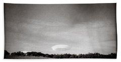 Spaceship Beach Sheet by Dave Bowman