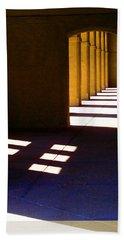 Spanish Arches Light Shadow Beach Towel