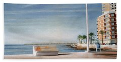 Spanish Coast Beach Towel