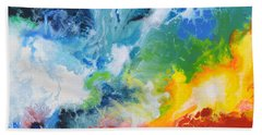 Spark Of Life Canvas Two Beach Towel