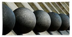 Spheres And Steps Beach Towel