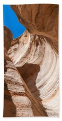Spiral At Tent Rocks Beach Towel