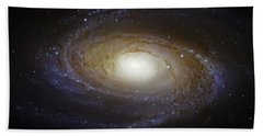 Spiral Galaxy M81 Beach Towel