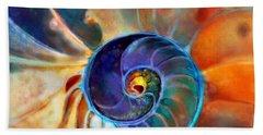 Spiral Life Beach Sheet