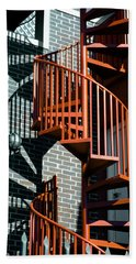 Spiral Stairs - Color Beach Sheet