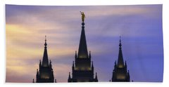 Spires Beach Towel by Chad Dutson