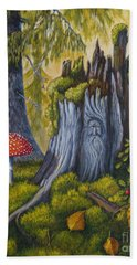 Spirit Of The Forest Beach Towel