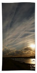 Spirits Flying In The Sky Beach Sheet