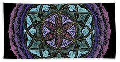 Spiritual Heart Beach Towel