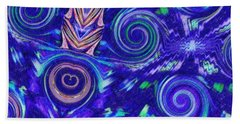 Spiritual Waters Beach Towel by Alec Drake