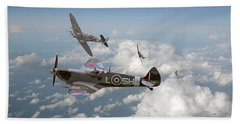 Spitfire - Tally Ho Beach Towel