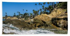 Beach Sheet featuring the photograph Splash by Tammy Espino