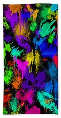 Splattered One Beach Sheet