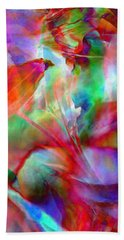 Splendor - Abstract Art Beach Towel by Jaison Cianelli