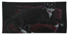 Spooky The Cat Beach Towel