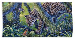 Spotted Beach Towel by Gail Butler