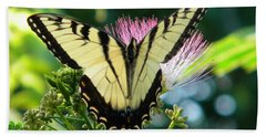 Southern Butterfly Beach Towel