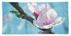 Spring Blossom Beach Towel by Jocelyn Friis