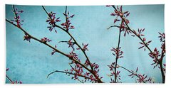 Spring Buds Beach Towel