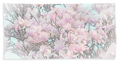 Beach Towel featuring the photograph Spring Has Arrived I by Susan  McMenamin