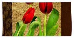 Spring Hues Beach Towel by Lourry Legarde