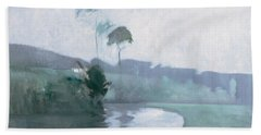 Springtime, C.1884 Oil On Canvas Beach Towel